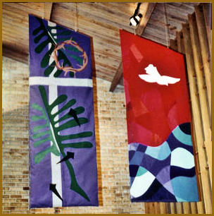 St Michael's Houston banners
